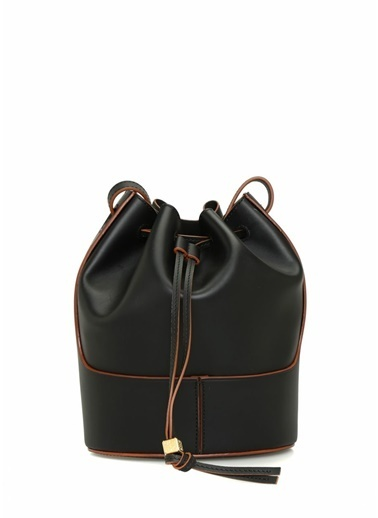 Loewe Loewe Ballon Small  Kadın Deri Omuz Çantası 101545369 Siyah
